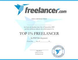 #7 for Design Freelancer.com's new Achievement Certificate by ozassist