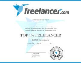 #9 cho Design Freelancer.com's new Achievement Certificate bởi ozassist