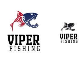 "nº 117 pour Design a Logo for our new fishing company ""Viper Fishing"" par alfonself2012"