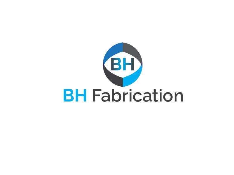 #134 for Design a Logo for BH Fabrication by rahmatfajri92