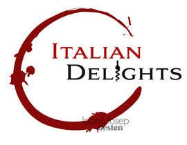 #27 para Design a Logo for Italiandelights.nl por ioanaiosep