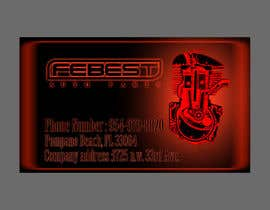 #27 para Design some Business Cards for Our Auto Parts Company por devilish19