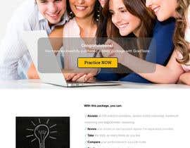 Nro 10 kilpailuun Design 1 landing page for an IQ testing website käyttäjältä phthai