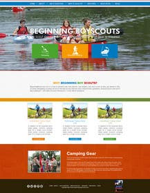 #11 for Web Design for Youth Outdoor Adventure and Service Organization website by allynutz