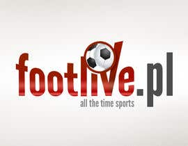 #67 for Design logo for footlive.pl af ahmetturkoz