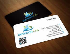 #60 cho Design some Business Cards for Outdoor Lab *UPDATE* bởi ezesol