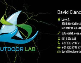 gaborhavasi tarafından Design some Business Cards for Outdoor Lab *UPDATE* için no 65