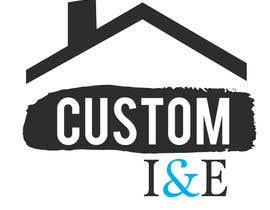 nº 17 pour Design a Logo for Custom Interiors and Exteriors par FernandoJAM