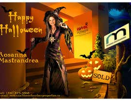 #14 untuk Design a Halloween postcard for a real estate agent oleh Spector01