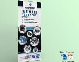 #26 for Design a roll up Banner by MrDesi9n