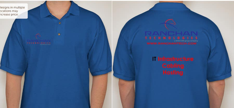 Contest Entry #15 for Design a corporate polo T-Shirt for company uniform