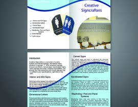 #14 para Design a Brochure for a Sign Company de madalinarpadurar
