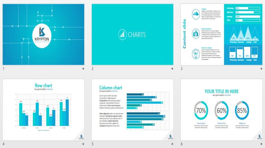 #9. pályamű a(z)  Design a powerpoint template versenyre