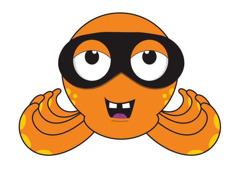 Příspěvek č. 7 do soutěže Design a bandit mask wearing octopus!