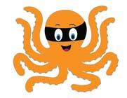 Illustration soutěžní návřh č. 13 do soutěže Design a bandit mask wearing octopus!