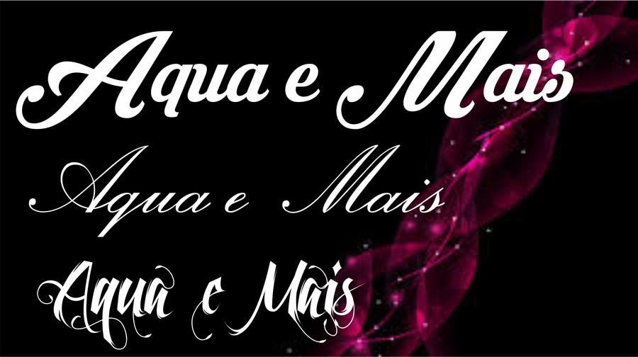 Contest Entry #8 for Acqua e Mais -> is the name of the company. please follow the style on the image attached