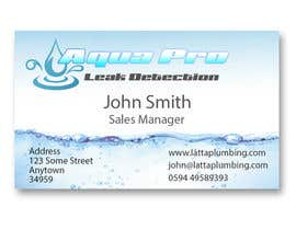 #17 για Design a Logo and Business Card for a Leak Detection Company for Water Leaks (Similar to Plumber) Up to 2 Winners από fingerburns