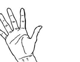 #3 Make an animated gif of a waving hand részére whitelotus1 által