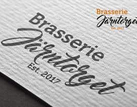 #49 for Designa en logo for restaurant/ brasserie by primavaradin07