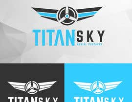 #158 for Design a Logo for Titan Sky by BhenAblana