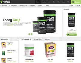 nº 8 pour Build a Website for herbal par udream2reality