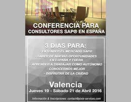 #3 for Design a Flyer for a company event in Valencia by nattnathan