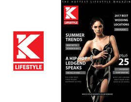 #80 for Develop Logo Concept into Vector Collateral for K Lifestyle Magazine by putih2013