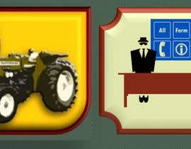 #24 untuk Logo Design for All Farm Ideas, Inc oleh peterkasakov