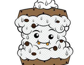 #32 for Cookie iceacream sandwich logo designed. In pop art/ comic theme by Bateriacrist