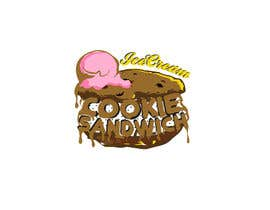 #29 for Cookie iceacream sandwich logo designed. In pop art/ comic theme by draganajovic