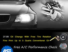 #6 for Design a Flyer for automotive repair shop 4x6 by job2sathishkumar