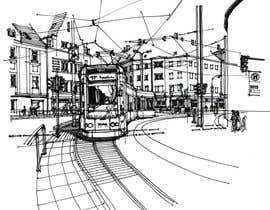 #16 untuk B&W Pen & Ink Drawings of Cityscapes Wanted oleh axxlight