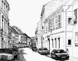 #30 untuk B&W Pen & Ink Drawings of Cityscapes Wanted oleh FLand