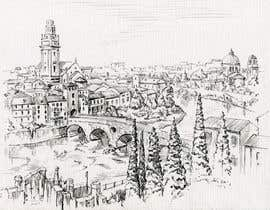 nº 22 pour B&W Pen & Ink Drawings of Cityscapes Wanted par lausta
