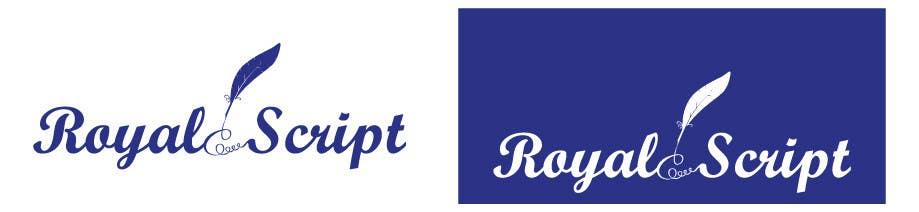 Inscrição nº                                         177                                      do Concurso para                                         Logo Design for Stationery Packaging - Royal Script