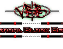 #17 para Design a Logo for Verbal Black Belt por Ghomez