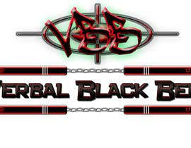 nº 18 pour Design a Logo for Verbal Black Belt par Ghomez