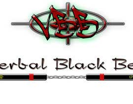 #21 para Design a Logo for Verbal Black Belt por Ghomez