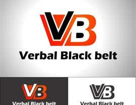 #13 for Design a Logo for Verbal Black Belt af bennor