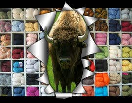 #23 para Banner Ad Design for The Buffalo Wool Co. por thejack4jill