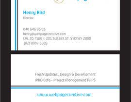 nº 19 pour WEBPAGECREATIVE-BUSINESS!!!CARDS par mamunfaruk