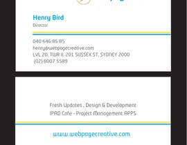 nº 20 pour WEBPAGECREATIVE-BUSINESS!!!CARDS par mamunfaruk