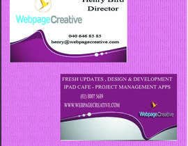 #5 for WEBPAGECREATIVE-BUSINESS!!!CARDS af kvlrcube