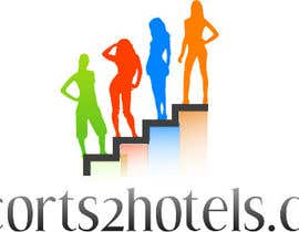 tanveer230 tarafından Design et Logo for escorts2hotels.com için no 14