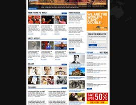 dragnoir tarafından Website Design for TodayChina.TV için no 28
