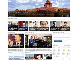 dragnoir tarafından Website Design for TodayChina.TV için no 34