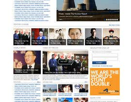 dragnoir tarafından Website Design for TodayChina.TV için no 32