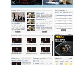 herick05 tarafından Website Design for TodayChina.TV için no 59