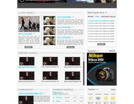 #39 для Website Design for TodayChina.TV от herick05