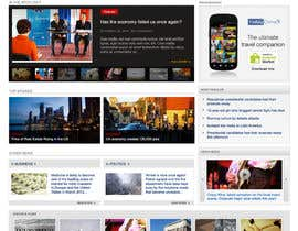 cameolis tarafından Website Design for TodayChina.TV için no 10
